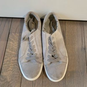 Kenneth Cole Grey Suede Sneakers